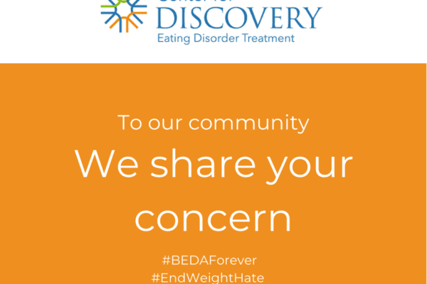Center for Discovery shares concern with community image